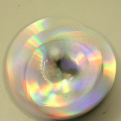 Holographic spinner (in movement)