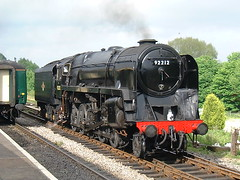 92212 at Alton (rcarpe2) Tags: steam alton watercress 9f midhants 92212 treain
