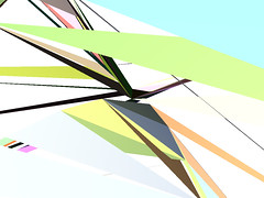 twist-39420 (toxi) Tags: colour triangles 3d ab generative processingorg soundreactive