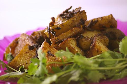 Blackened Potatoes