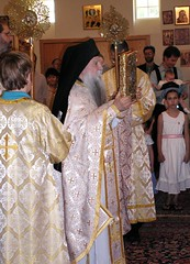 The little entrance (zenosaurus) Tags: baby greek babies monk baptism holy orthodox orthodoxchristian greekorthodox chrismation hieromonk