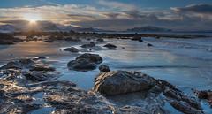 Winter sun (Jens Inge Ringstad) Tags: sunset beach norway landscape ulstein fl