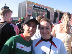 Alemania apoyando a México ;-)