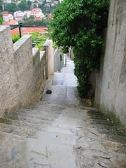 Steps, steps and more steps. (engrishmajor) Tags: croatia dubrovnik babinkuk