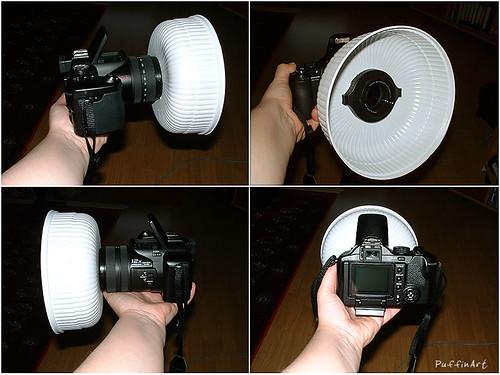 Cheap Creative Rascal Ring Flash Diffuser