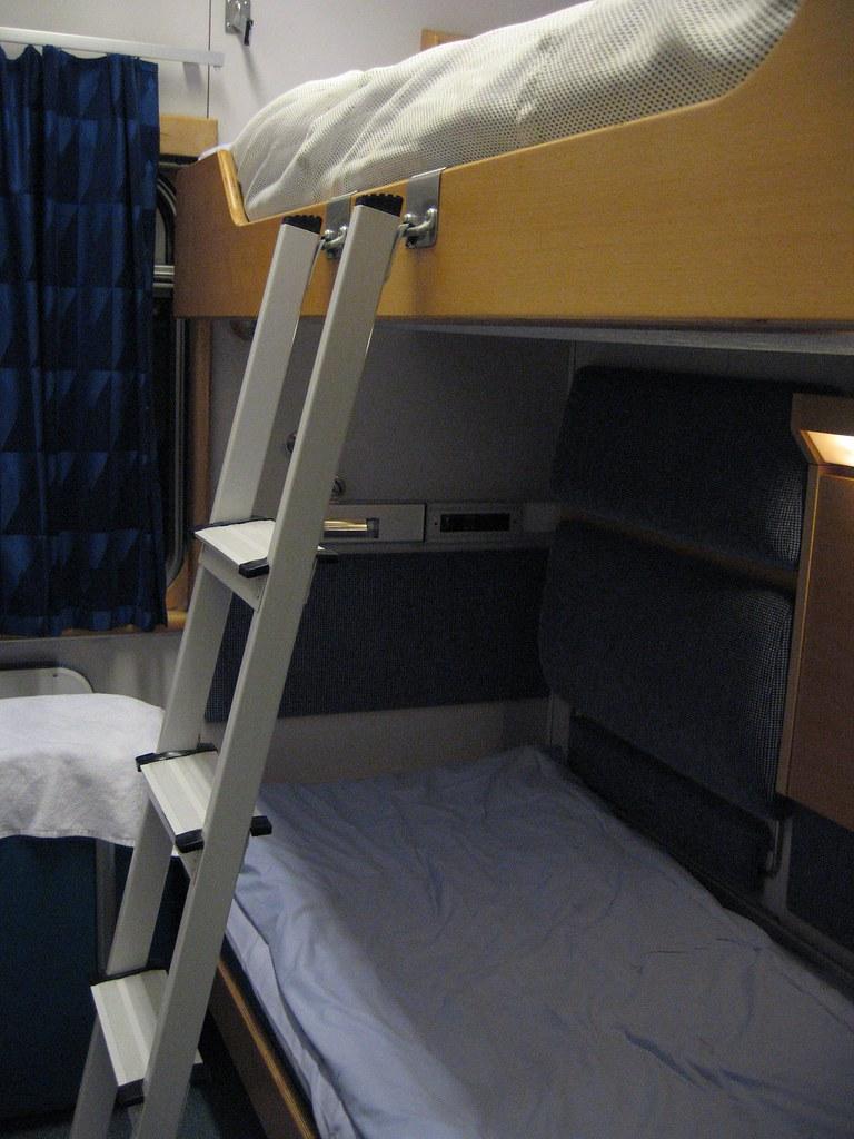 Swedish sleeping car interior
