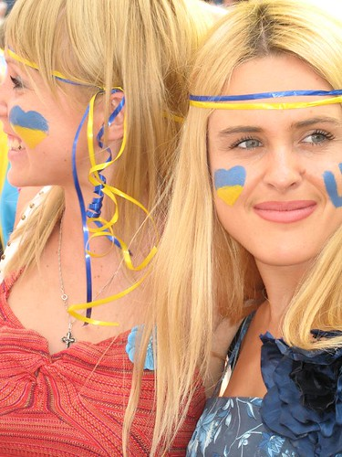 Download this Ukraine Girls Tunisia Game Berlin Worldcupblog picture