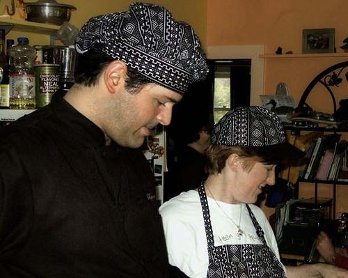 Matching chefs!