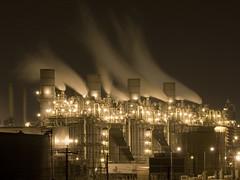 Roadside Attraction (OneEighteen) Tags: longexposure night lights lowlight industrial 500v20f steam i500 nikonstunninggallery
