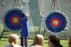 Archery with the Pre-Teens