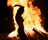 Spinner Silhouette (Aaron Webb) Tags: fire potomac firetwirling