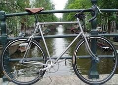 Fiets (deboof) Tags: amsterdam bike speed canal bikes canals single fietsen fiets reguliersgracht