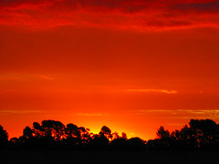 Fire in the Sky (oz_britta) Tags: sunset red australia thecontinuum lovephotography fcsetsrises