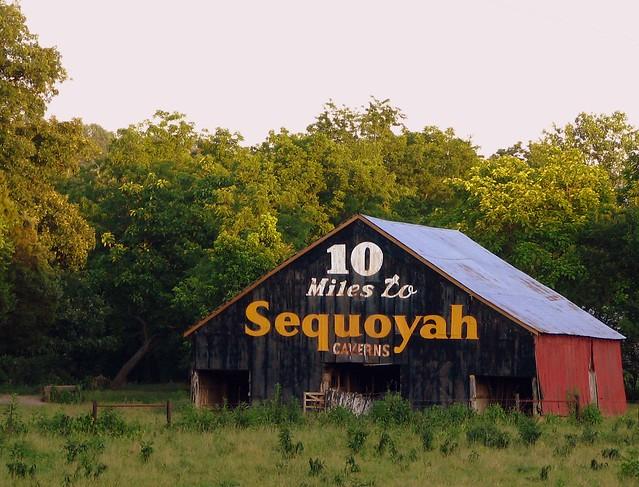 10 Miles to Sequoyah Caverns