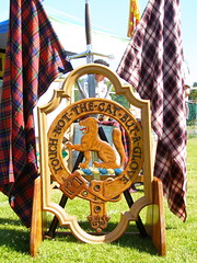 Clan MacPherson Flags and Crest Badge