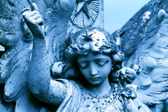 Angel Blue (Anima Fotografie) Tags: blue ireland friedhof cemeteries cemetery graveyard angel amazing gorgeous awesome cementerio cemitrio stmichael wicklow stature archangel scs cimetire faved cementerios cemitrios cimiteri cimetires steiner62 friedhoefe scoreme38 judgmentday54 rathnew challengeyouwinner abigfave cimiteris