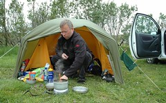 Time for breakfast (pasto) Tags: camping breakfast ego paul island fire iceland tent pasto husavik pl
