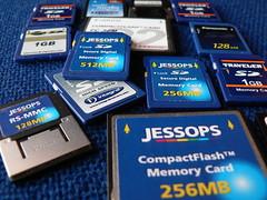 Memory Card mixture