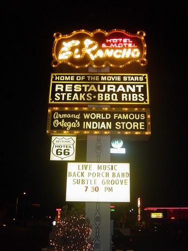 The El Rancho - Gallup, New Mexico