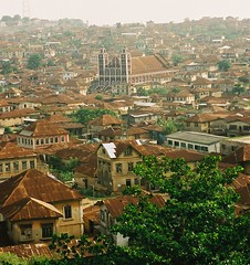 Central Mosque, Abeokuta, Nigeria (Barefoot In Florida) Tags: africa rock landscape smoke churches nigeria ogun abeokuta olumo