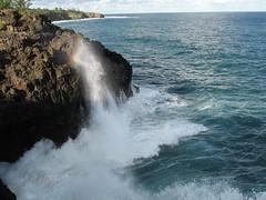 Wave on cliff again (Duncstar) Tags: sea coast crashingwave