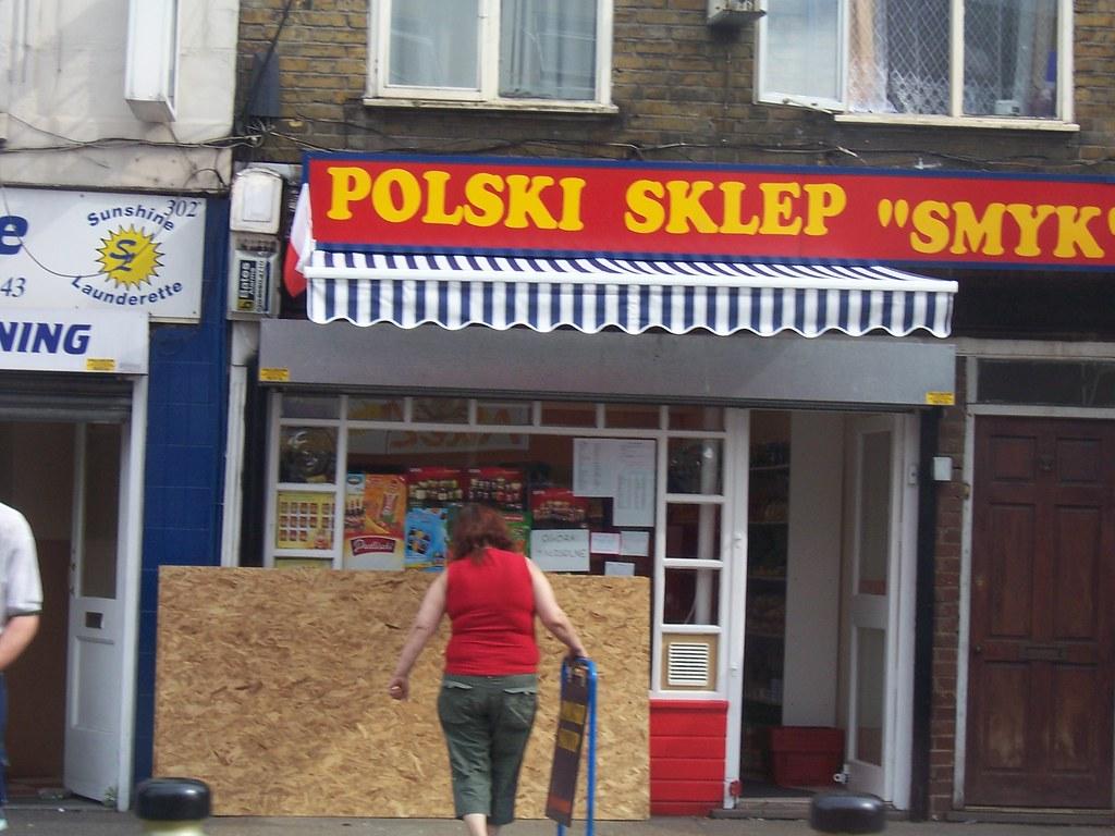 8b9c72ef18d6f Polish shop in East London (Vickykc) Tags: london shop polska polish sklep  vickykclostinthought
