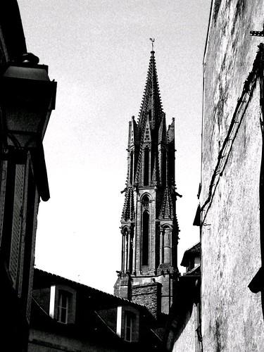 Le flèche de la cathédrale