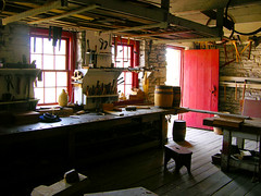 The Workshop (sfPhotocraft) Tags: wood red minnesota fort minneapolis reddoor fortsnelling