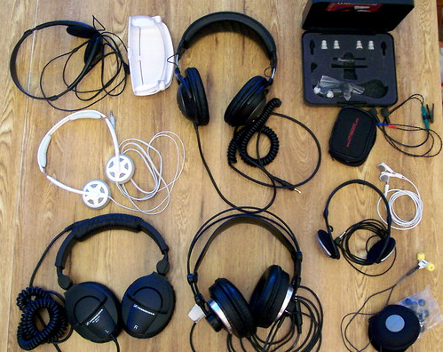 Gathered for the IHR Headphone Roundup