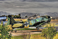 ww2 german fighter (Kris Kros) Tags: california ca usa classic public photoshop plane vintage airplane photography interestingness high airport cool interesting nikon pix dynamic cs2 antique aircraft aviation military wwii ps socal german vannuys ww2 kris range hdr worldwar jjj kkg 3xp photomatix pscs2 kros kriskros interestingness481 vannuysairport ww2germanfighter kk2k kkgallery