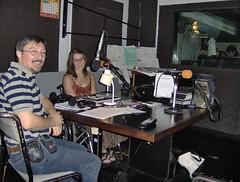 Cecile y Guri en la radio nacional argentina (Claire tango) Tags: frangine