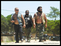 Bikers (algarvenicky) Tags: portugal faro bikes bikers title2 title3 2for2 title1 titleit algarvenicky farobikerally