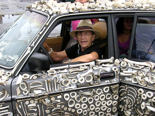 Mercedes Bonz Art Car