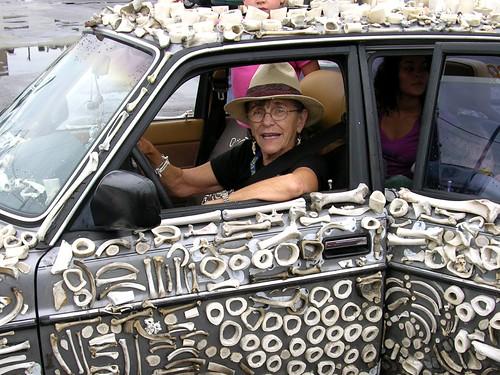 Mercedes Bonz Art Car