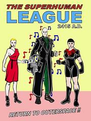 The Superhuman League 2415 A.D.