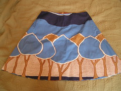 The first tree skirt!! (stupid clever) Tags: