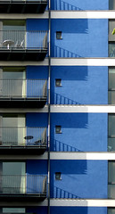balconies (Yersinia) Tags: uk greatbritain blue england abstract london public geotagged se europe shadows unitedkingdom britain eu explore gb balconies safe guessed guesswherelondon londonguessed southlondon southwark se1 faved travelcard urbanabstract urbanabstracts urbanfragments urbanfragment antonineheights longlane londonset londonbylondoners ccnc southoftheriver interestingness65 zone1 photographical yersinia postcoded londonpool guessedbymro urbanfragmentspool gwl2006 casioexz110 postedbyyersinia geo:lat=51498404 geo:lon=0083771 inygm southlondonpool se1set southlondonset southwarkpool urbanabstractsset urbanabstractspool gwlg uacalendar kiloview decafaved londonboroughcollection