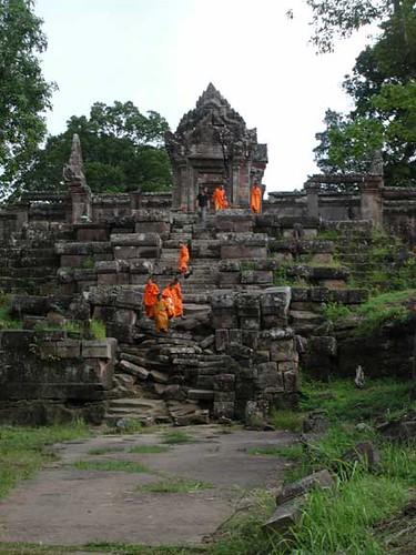 Monk waterfall, Preah Vihear