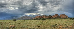 Outcropping Panorama (Scott Ingram Photography) Tags: panorama mountain ilovenature sandstone colorado peak buenavista northamerica 300 hdr 1000 bestofthebest 1000views outcropping 3x photomatix tonemapped perfectpanoramas hdrpano coloradolandscapes coloradoart sipbotbfs slickrframe coloradolandscapeimages coloradolandscapeart