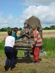 Installing Prajnaparimita at Taraloka