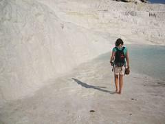 DSCF1979 (Mick Muck) Tags: travel turkey pammukale limestonecliffs