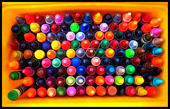 Life is about using the whole box of crayons by mbrinamen