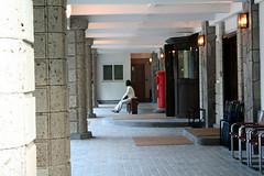 玄関の外側