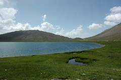 Sheosar Lake (usamabhatti) Tags: pakistan lake nature sheosarlake northernareasofpakistan deosaiplanes