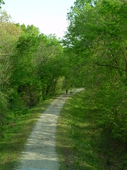 The Katy Trail was partially funded by Transportation Enhancements funds