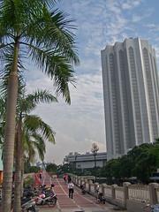 Passing (Jon De Keyser) Tags: tree tower malaysia kualalumpur kl menara