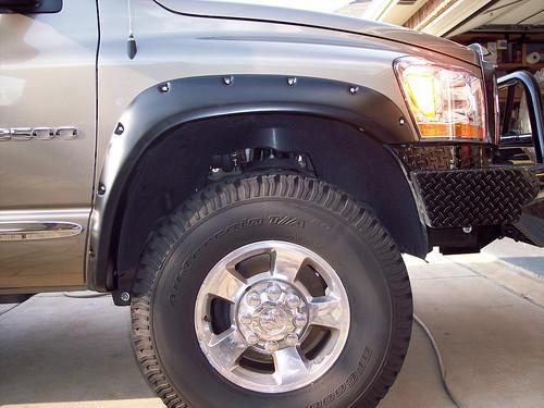 Pro Comp Leveling Kit >> Which Fender Flares? - Dodge Cummins Diesel Forum