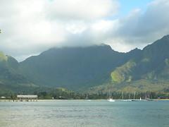 Kauai: Shipwreck at Pu'u Poa Beach (ericrichardson) Tags: kauai hanalei kathyanderic