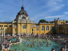 Budapest-Exterior thermal baths