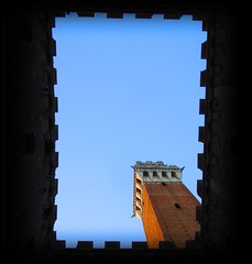 stamp of siena (kiplingflu) Tags: italy 510fav italia torre cityhall sienna favme stamp fv10 siena toscane mangia italië